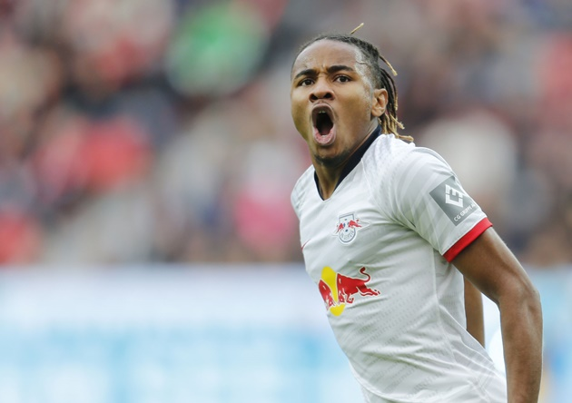 Arsenal has been linked with a move for RB Leipzig midfielder, Christopher Nkunku - Bóng Đá