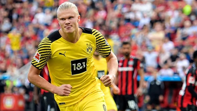 Barcelona have been approached by several investment funds who want to help finance a deal for Borussia Dortmund's Erling Haaland - Bóng Đá